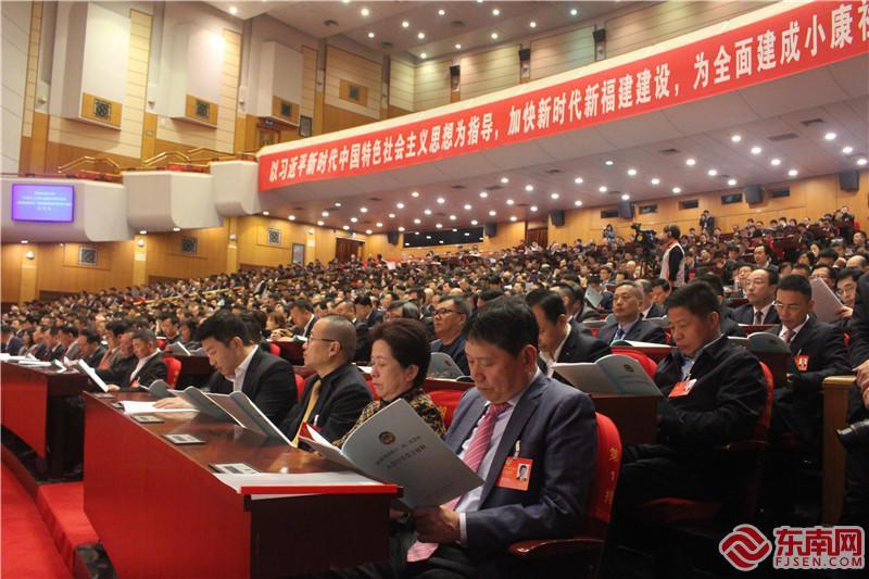 凝心聚力建真言 省政协十二届三次会议举行大会发言