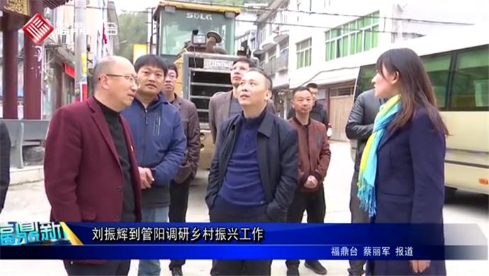 刘振辉到管阳调研乡村振兴工作