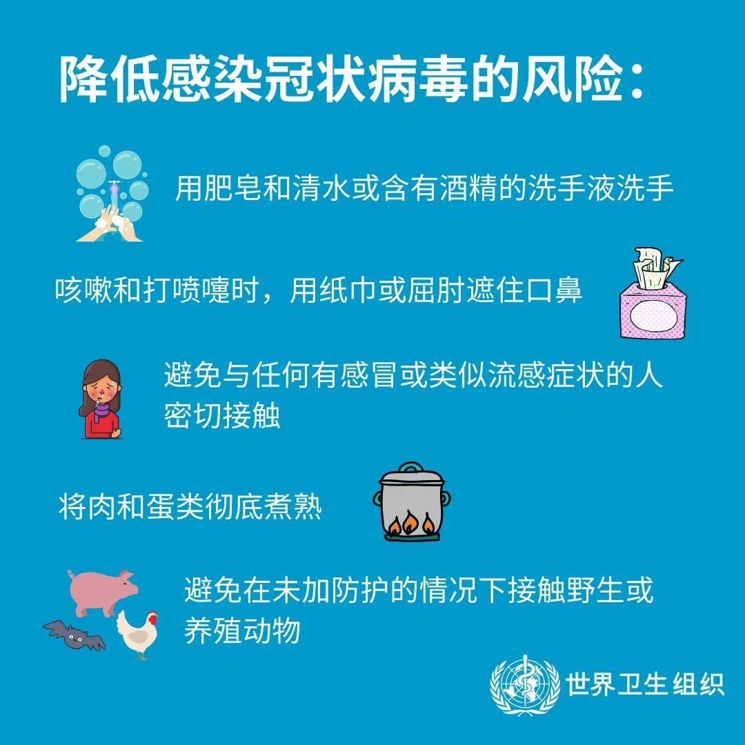 注意!预防冠状病毒,如何保护自己和他人?