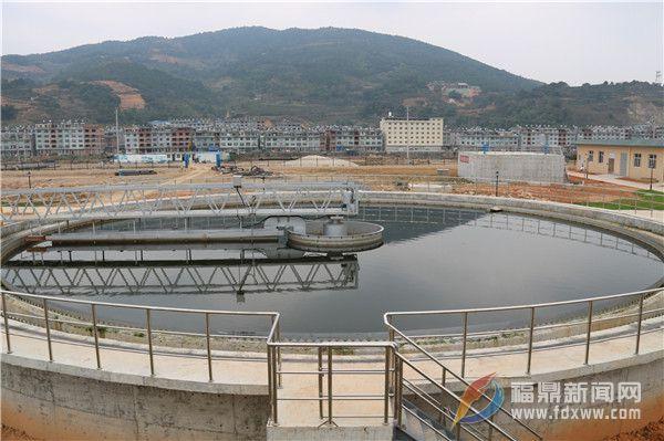 店下-龙安污水处理厂具备投产条件