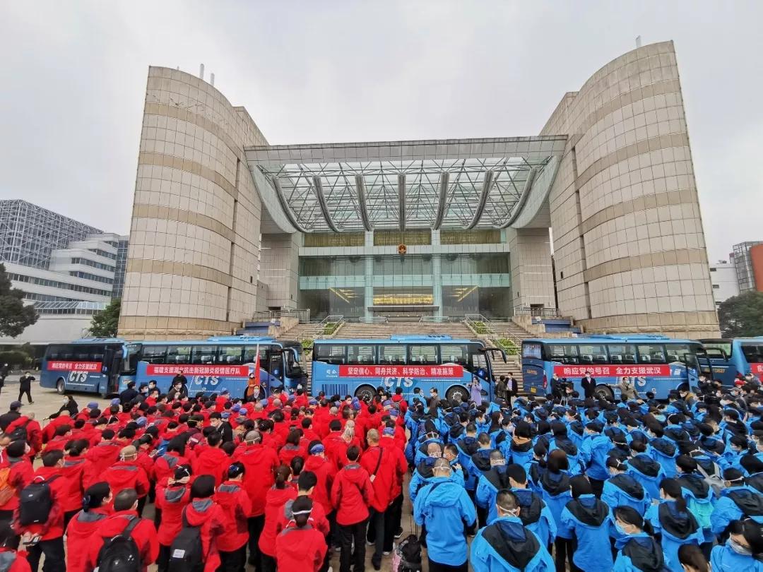 """""""省立蓝""""""""协和红""""再出征,这次目的地是武汉新开的重症病区!"""