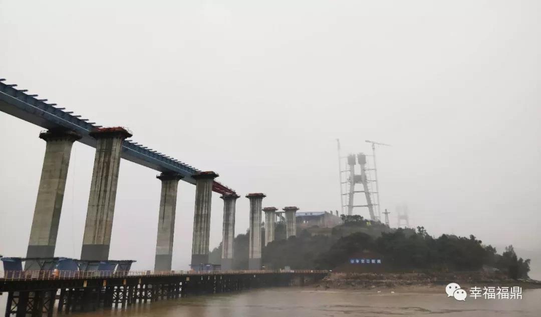 防疫情赶工期两不误,沙埕湾跨海大桥通道工程复工