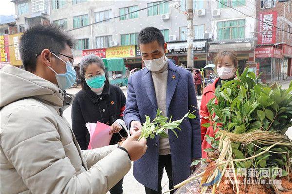 点头:住乡联村干部支援茶乡,力保防疫生产两促进