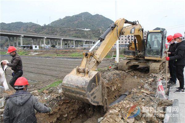 太姥山镇:防疫不误工福鼎市东南沿海供水二期工程建设进展顺利进度加快