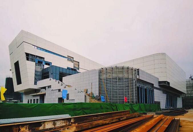 福鼎市博物馆暨中国白茶博物馆项目主体今日正式落成