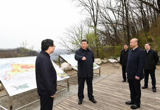 """曾六次批示指示 习近平陕西考察首站关注这个""""根本大计"""""""