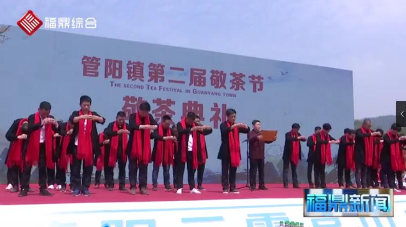 第二届敬茶节暨乡村振兴茶旅文化节在管阳举行