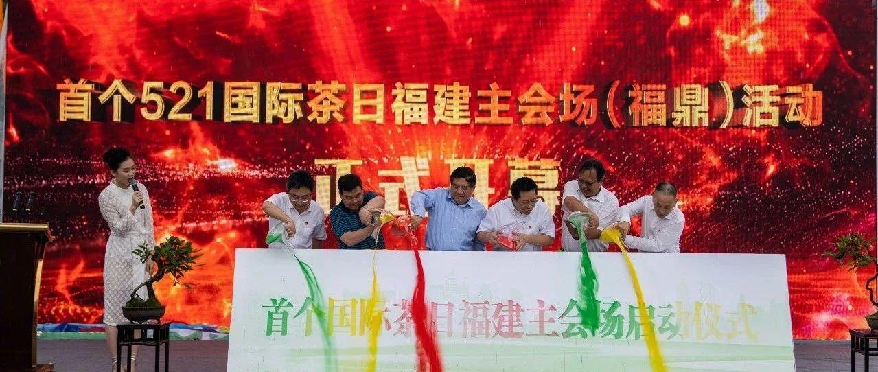 """首个""""国际茶日"""",福鼎这样隆重庆祝!"""
