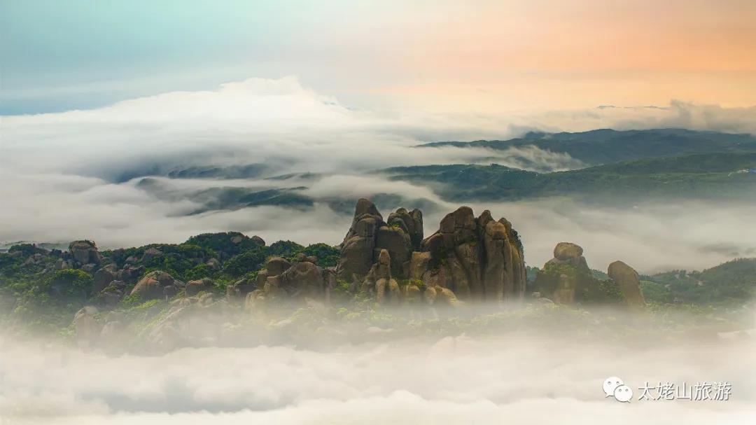 这么美的云海仙境,就在太姥山