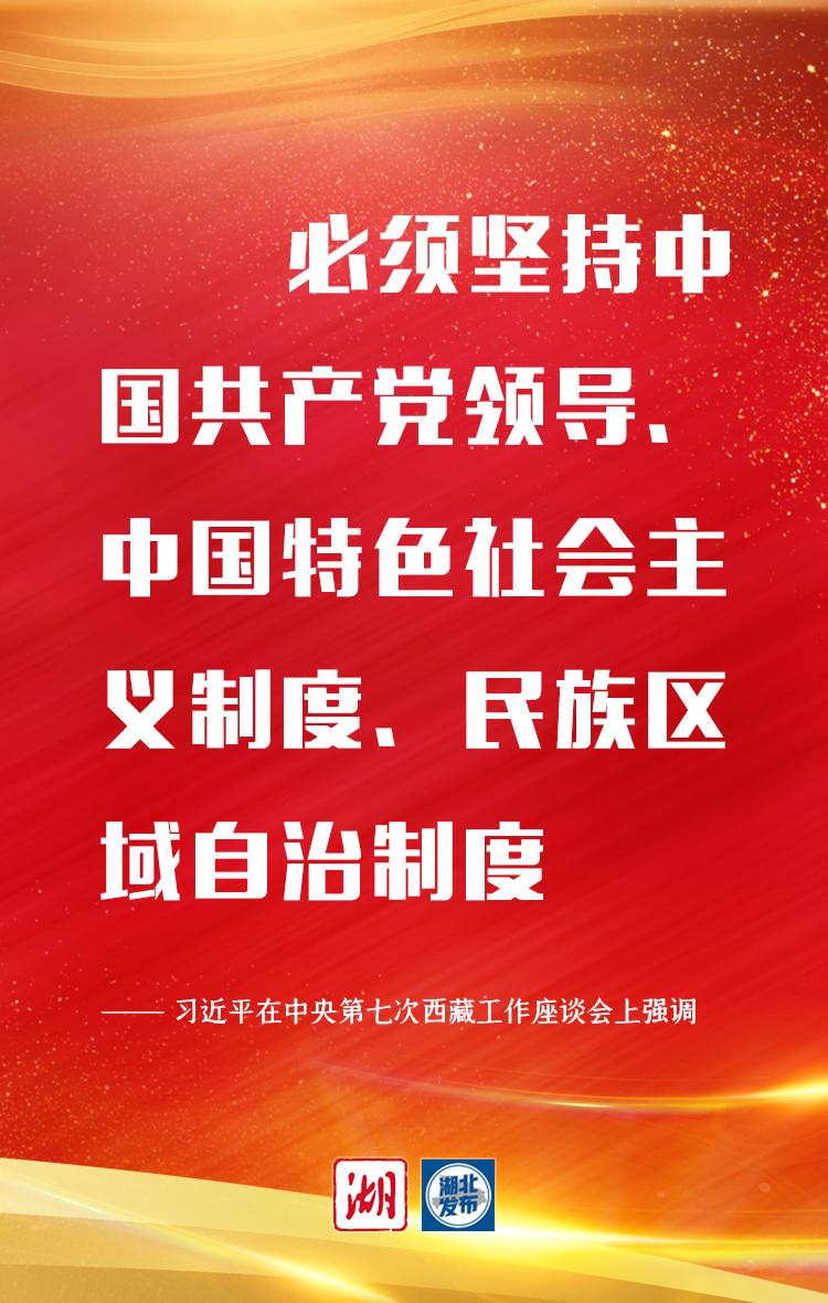 """关于西藏,习近平最新强调10个""""必须"""""""