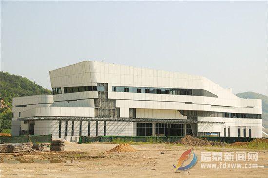 福鼎文化艺术中心PPP项目五馆主体落架完毕