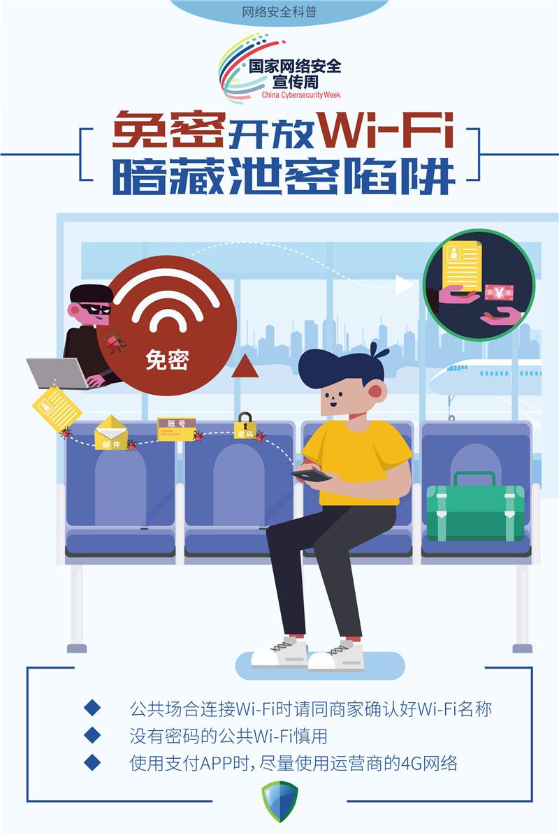 免密开放Wi-Fi 暗藏泄密陷阱