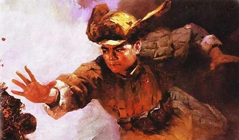 英雄不朽——舍身堵枪眼的英雄黄继光