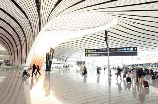 大兴机场旅客吞吐量首超千万人次