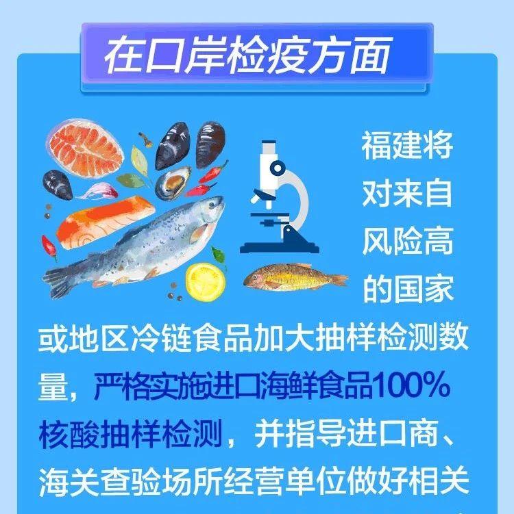 福建:实施进口海鲜食品100%核酸抽样检测