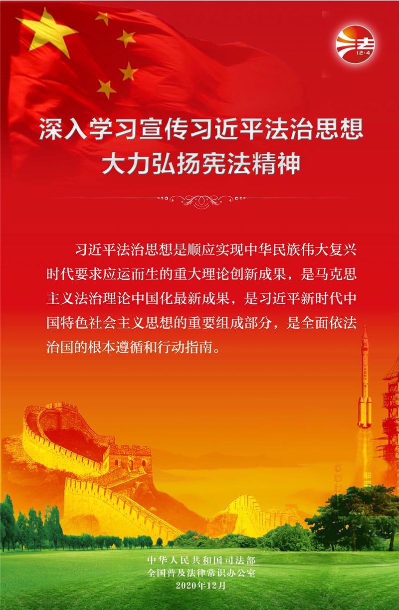 2020年全国宪法宣传周海报挂图(一)