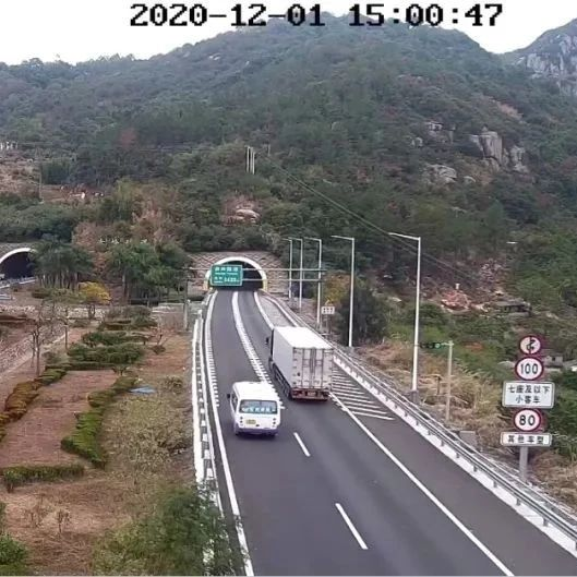 沈海高速赤岭隧道12月1日起恢复通车!