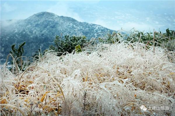 """冬日的太姥山,带你走进""""水晶童话世界"""""""