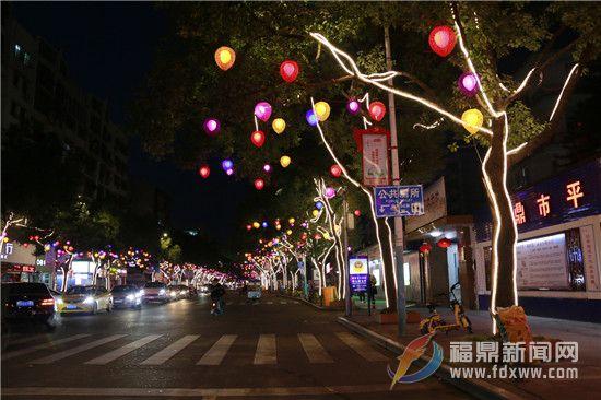 张灯结彩迎春节