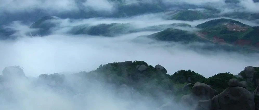 云雾撩仙山,美翻了