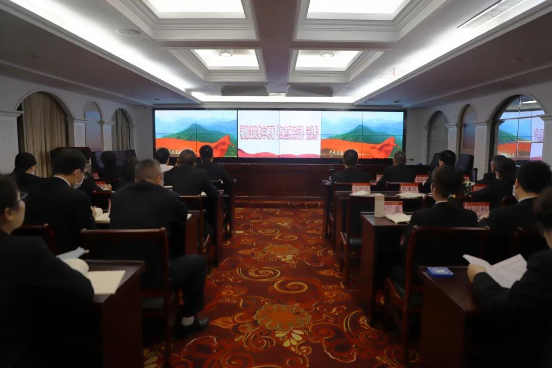 队伍教育整顿|福鼎法院党组书记、院长王锦熙为全体干警上党课