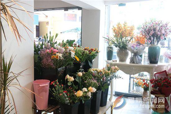 母亲节将至,鲜花市场走俏