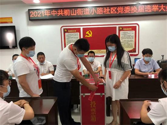桐山街道小路社区党委换届选举大会圆满完成